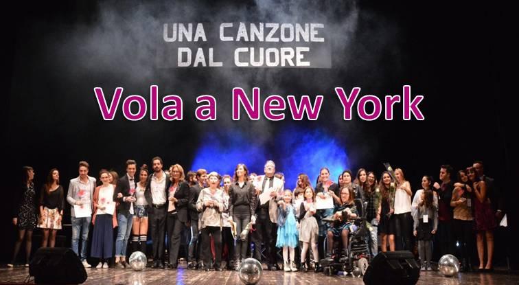 FOTO  UNA CANZONE DAL CUORE VOLA A NEW YORK
